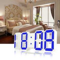M.Sparkling Modern Desk LED Digital Alarm 24/12-Hour Snooze