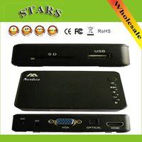 Nsendato Mini Full HD multimedia Player Autoplay 1080p USB External HDD SD U Disk