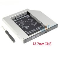 RIITOP Universal 2nd HDD Caddy 12.7mm IDE SATA Adapter For DELL HP ACER BENQ ASUS