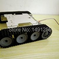 WD motor driver obstacle-surmounting tank car chassis /high torque,metal structure