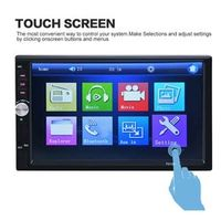 Vehemo 7 Inches 2 Din HD 1080P With Remote Control MP5 player FM Bluetooth Support