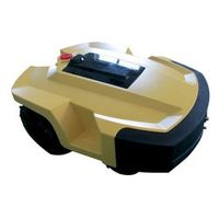 PAKWANG Robotic Lawn mower L600 power mower with 2 pcs of Lithium battery 4Ah, LCD display, bumping rubber automatic field mower