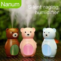 Vehemo Bear-Shaped Silent Compact Humidifier Automobile Fragrance Home Office