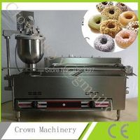 Electric and gas mini donut frying machine;commercial donut maker