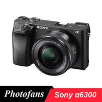 Sony A6300 Mirrorless Digital Camera ILCE-A6300L with 16-50mm Lens -24.2MP -4K Video