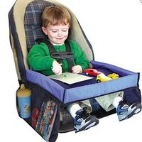 Waterproof Storage Toy Holder Desk Infant Stroller Board