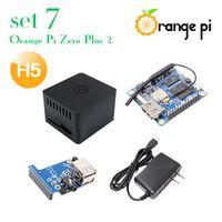 ORANGEPI Orange Pi Set 7: Zero Plus 2 H5 Protective Case Expansion OTG Power Supply