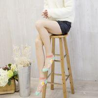 Candy color marine series short socks Ultra-thin breathable small fresh  girl socks