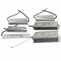 DIANQI LPV 12V 24V 48V ac dc converter water proof IP67 Waterproof LED Transformer
