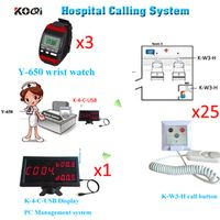 Ycall Patient Nurse Call System Improve Hospital Service Level Remote Alert Pager