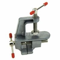 "A96  3.5"" Aluminum Miniature Small Jewelers Hobby Clamp On Table Bench Vise Tool Vice#XY#"