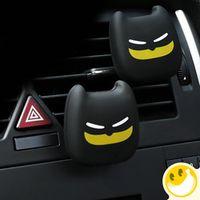 KEOGHS 2pc Car Perfume Outlet Car Air Cleaner Cute Dark Knight Styling Perfume clip