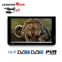 LEADSTAR 10 inch Portable TV Mini Digital Television With DVB-T DVB-T2 Tuner With USB