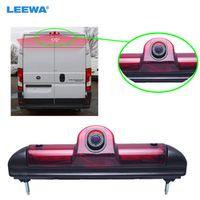 LEEWA Car LED Brake Light IR Rear View Reversing/Parking Camera For Fait
