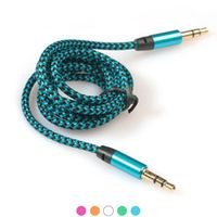 CARPRIE AUTO Top 3.5MM 1 M Car Male AUX AUXILIARY Sound Stereo Audio Data Cable MP3