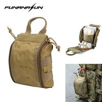 FUNANASUN 1000D Molle Tactical First Aid Kits Utility Accessory Outdoor Hunting