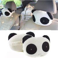 Vehemo Lovely Creative Cute Panda Shape Cars Rest Pillow Cushion For Toy Kids Gift