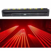 MFENG 1200MW Moving head RED laser array R650NM-150mW rough spotX8PCS stage party