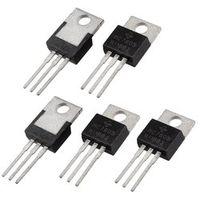 5 Pcs 3 Terminals 1.5A 5V L7805CV Postive Voltage Regulators