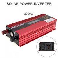 xuyuan 2000W 12V 24V to AC 220V 110V Aluminum Alloy Case Solar Power Car Inverter