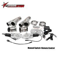 "RYANSTAR RACING - 2.25"" 2.5"" 3"" 2xCut Out Remote Control/Manual Switch"