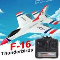 SBEGO Wltoys FX-823 2.4G 2CH F16 Thunderbirds EPP