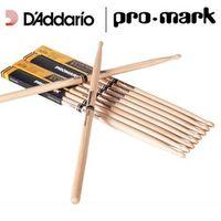 D'Addario Promark by D'addario TX5AW 5A Wood Tip Hickory Drumsticks 5B 2B 7A