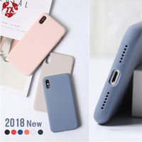 YX Phone Case Silicone X XS Max XR Liquid TPU Soft For iPhone X 8 7 6 6S Plus