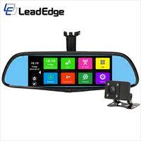 "LeadEdge Z7 7"" Dedicated Car DVR Rearview Mirror android GPS navigation Camera"