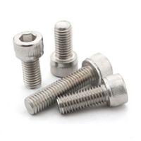M4 series  100pcs Stainless steel hex socket screws M4*4/5/6/8/10/12-30 mm cylinder head bolt, cup head screws