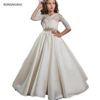 RONGNIUNIU Cute Tulle First Communion Dresses For Gowns