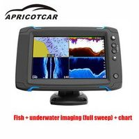 APRICOTCAR 7-inch GPS Navigation Full Sweeps Na Touch Screen Side Scan Sea Map Probe