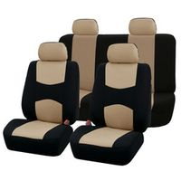 AUTOYOUTH Car Seat Covers Full Set Universal Fit Car Accessories Auto Seat Protectors