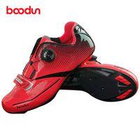 BOODUN Road Cycling Shoes Men Bike Sneakers Zapatillas Ciclismo Chaussure Vtt