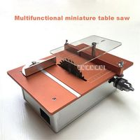 ZJMZYM Small Woodworking Multifunctional Diy Desktop Cutter Mini Table Saw