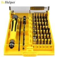 BeHelper [45 in 1] Professional Torx Screwdriver Set Precision Watch Computer iPhone Samsung Smart Phone Repair Dismantle Tools