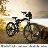 ANCHEER ebike 26inch Bike 27 Speed Foldable Electric Power Mountain Bicycle