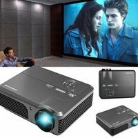 CAIWEI Factory Direct Home LED Projector Protect Eyes 4200 Lumens Beamer Built-in