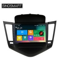 SINOSMART 9'' Support 4G 4 Core RAM 2G/1G Android 6.0 Car Audio GPS Navigation Player