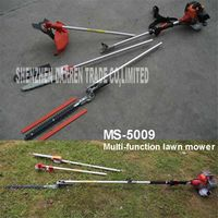 ZJMZYM MS-5009 Long Reach telescopic Petrol Chainsaw Brushcutter Tree Pruner