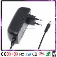 Deongaree 1pcs 120cm 24v 650ma 0.65A 15w adaptor EU input 100 240v ac 5.5x2.1mm DC