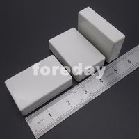 10PCS X NEW Mini SMALL CASE White PLASTIC shell Project chassis cooling Box for Components Enclosure Case 70*45*18mm *FD452X10
