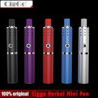 New Original Ciggo Herbstick Eco Vaporizer Dry Herb Airflow Hole 2200mah Mini Vape Pen Style VS Normal Dry Herbal Vaporizer Pens