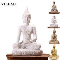 VILEAD 11 Style Buddha Statue Nature Sandstone Thailand