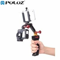 3-Way Handheld Mobile Phone Monopod Aluminium Alloy Selfie Stick Tripod Stabilizer for GoPro HERO5 / HERO4 Session / HERO 5 / 4