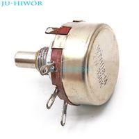 JU-HIWOR 5pcs/lot 2W 330K OHM Single Rotary Potentiometer
