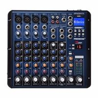 Freeboss SMR8 Bluetooth Record 8 Channels 4 Mono 2 Stereo 16 DSP Sound Console
