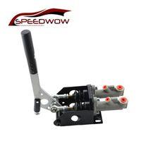 SPEEDWOW Universal Car Racing Handbrake Hand Brake Double Master Cylinder Hydraulic
