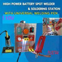 110V Battery protection board Spot Welder Welding Machine for  18650 16340 14500