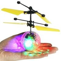 Kacakid 2017 Mini Flying RC Drone Helicopter Infrared Induction LED Remote Ball Mini Aircraft for Kids Children X2